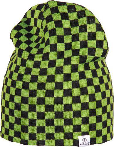 Viking Czapka męska regular czarno-zielona (2108326UNI)