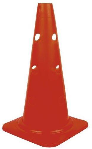 Spokey Pachołek Imbile 40 cm z otworami Spokey czerwony roz. uniw (82320)