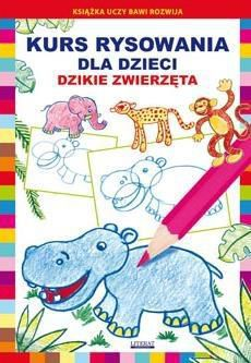 LITERAT Kurs rysowania dla dzieci.Dzikie zwierzęta - 220689