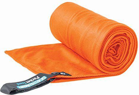 SEA TO SUMMIT Ręcznik Pocket Towel pomarańczowy 60x120 cm (APOCT/OR/L)