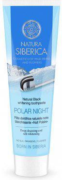 Natura Siberica Czarna Pasta Wybielająca Bez Fluoru Polar Night  100g