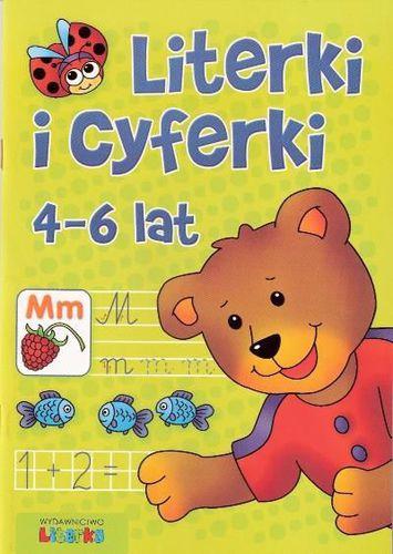 Literki i cyferki 4-6 lat LITERKA - 51181