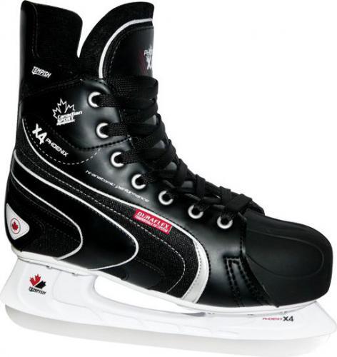 TEMPISH Łyżwy hokejowe Phoenix X4 czerwone r. 46 (1300000200-RED46)