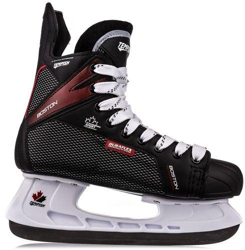 TEMPISH Łyżwy hokejowe Boston czarne r. 40 (130000133592-BLK40)
