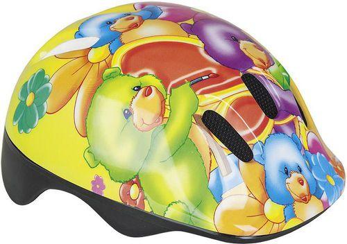 Spokey Kask ochronny dziecięcy Funny Bike Spokey Bears roz. 49-56