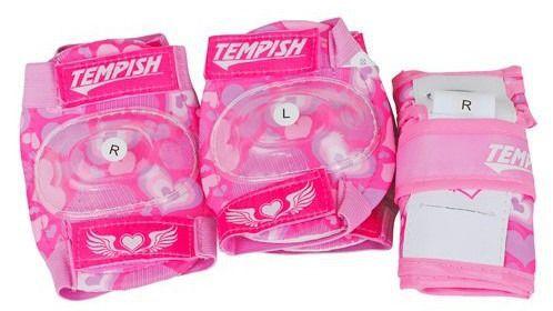 TEMPISH Ochraniacze 3-częściowe Meex różowy S