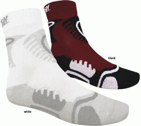 Tempish Skarpety Skate Air Soft czarne 11/12