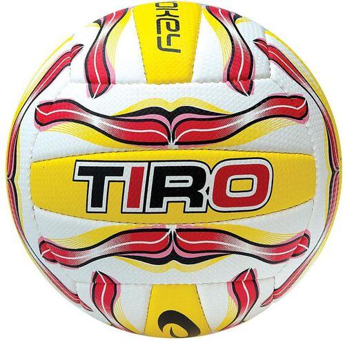 Spokey Piłka do siatkówki Tiro II 5 Spokey czerwono-żółto-biały roz. uniw (834035)