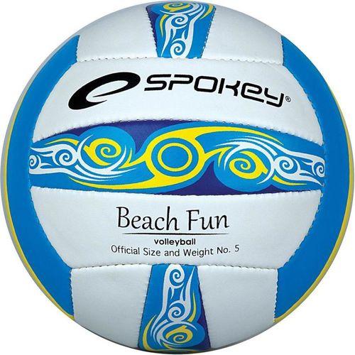 Spokey Piłka do siatkówki Beach Fun 5 Spokey niebiesko-biały roz. uniw (834044)