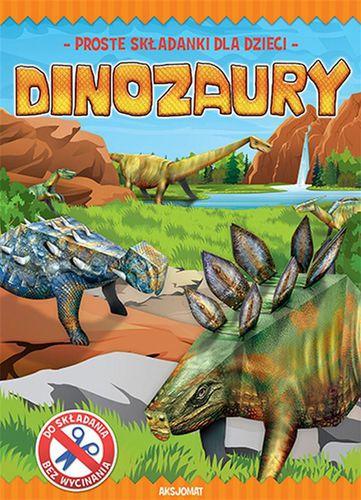 Aksjomat Proste składanki dla dzieci. Dinozaury - 233265