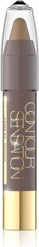 Eveline Contour Sensation Kredka do konturingu Step:2 bronze  1szt