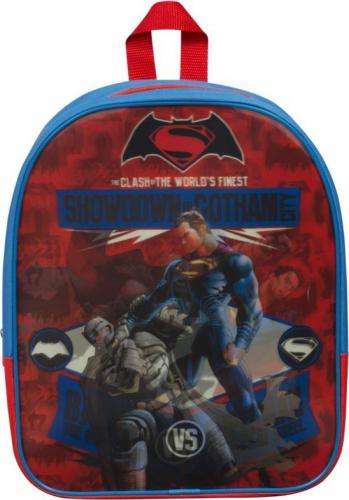 Sambro Plecak Batman vs Superman granatowo-czerwony (BVS-8234-2)