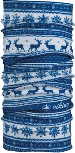 Viking Bandana Regular niebiesko-biała (4456)