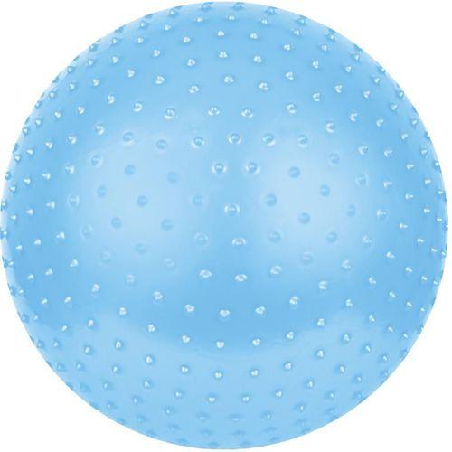 Spokey Piłka gimnastyczna z masażem Saggio Fit 65cm Spokey niebieski roz. uniw (832320)
