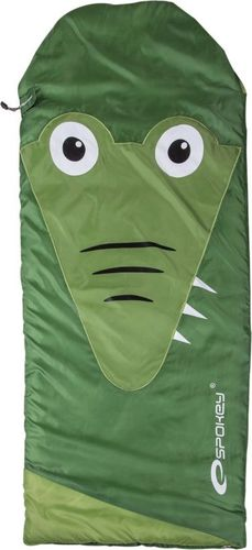 Spokey Śpiwór dla dzieci SleepyZOO zielony 140x60cm (837195)