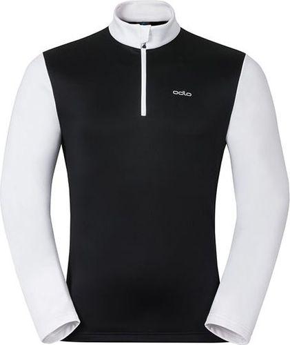 Odlo Bluza męska Odlo Midlayer 1/2 zip HARBIN czarno-biała r. XL (527332)