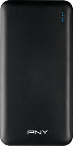 Powerbank PNY Technologies POWERPACK SLIM 10000 czarny (P-B10000-14SLMK01-RB)