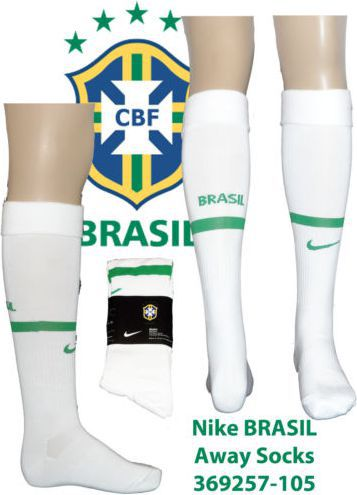 Nike Getry piłkarskie CBF HA SOCKS białe r. L (369257-105)
