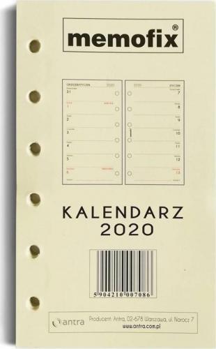 Antra Wkład do kalendarza 2020 Memofix