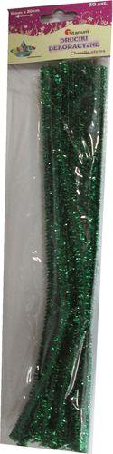 Titanum Drucik brokat zielony 6 mm x 30 cm. 30 sztuk. 338636. - WIKR-1019454