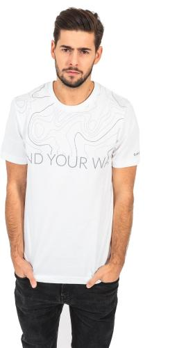MARTES Koszulka Hi-Tec ISOBAR biała r. M