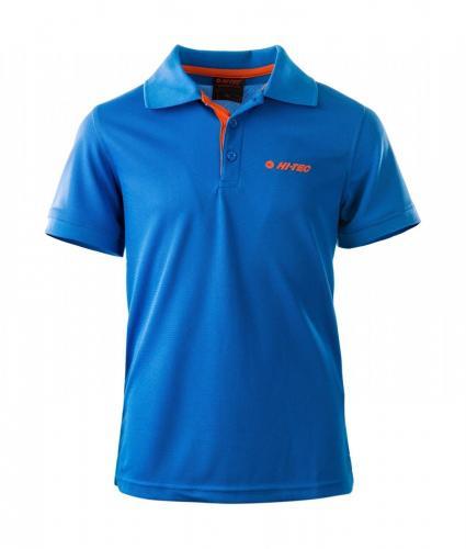 Hi-tec Koszulka dziecięca SITE JR FRENCH BLUE/RED ORANGE r. 152 cm (92800081666)