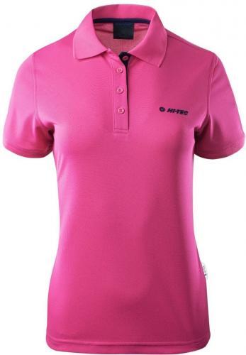 417312a7a6 Hi-tec Koszulka Dziecięca Site JR Honeydew/Geranium Pink różowa r. 146