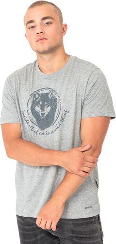 Hi-tec Koszulka męska Lupus Grey Melange r. L