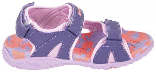 Hi-tec Sandały dziecięce TICOS TG Violet/ Light Violet/ Shiny Pink r. 40