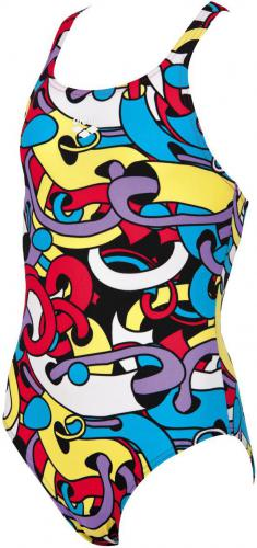 Arena Cores Jr New V Back One Piece