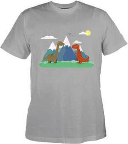 BEJO Koszulka DINO KIDS LIGHT GREY 122