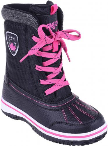 c811be32cbbab7 BEJO Buty Juniorskie Inari JR Black/Fuchsia r. 34