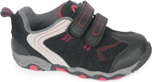 ELBRUS Buty Juniorskie Gavino JR Black/Mid Grey/Red r. 34