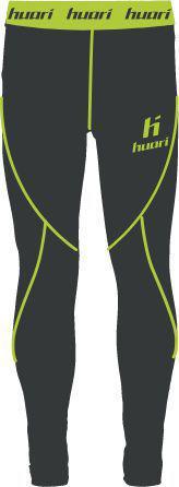 Huari Spodnie juniorskie BARI JR PIRATE BLACK/TENDER SHOOTS r. 158