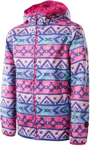 BEJO Kurtka Juniorska RAINA JR Aztec Print/Beetroot Purple r. 164
