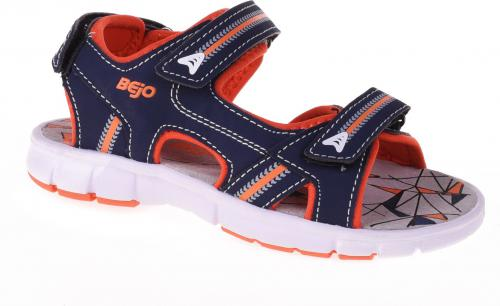 BEJO Sandały Juniorskie Beni JR Navy/Orange r. 31