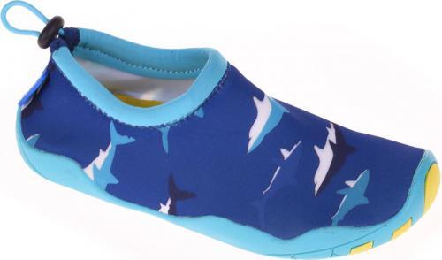 AQUAWAVE Juniorskie buty do wody SHARK JR, kolor niebieski, rozmiar 34