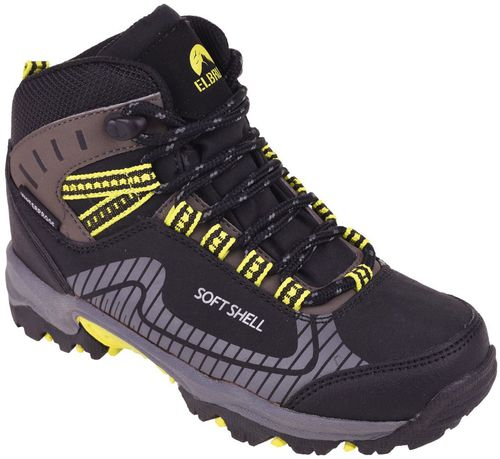 Elbrus Buty juniorskie trekkingowe Torin MID WP JR Black/Lime r. 30