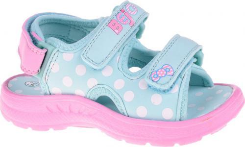 BEJO Sandały Dziecięce Minti Kids Light Turquoise/Pink r. 27