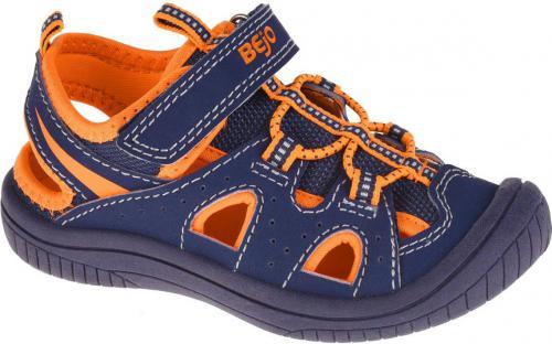 BEJO Sandały Dziecięce Silma Kids Navy/Orange r. 26