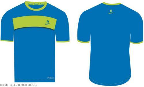 Huari Koszulka dziecięca IBROX KIDS T-SHIRT niebieska r. 134