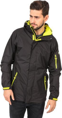 Elbrus Męska Kurtka Messyn Black/Yellow Green r. M