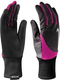 Nike Rękawiczki damskie Element Thermal 2.0 Run Gloves Black/vivid Pink r. M