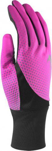 Nike Rękawiczki damskie Dri-fit Tailwind Run Gloves Pink Pow/black r. S