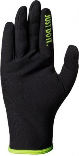 Nike Rękawiczki męskie Lightweight Rival Run Gloves 2.0 czarno-zielone r. XL