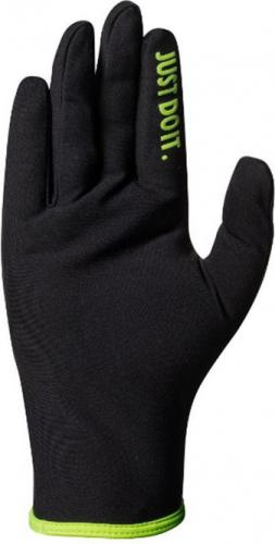 Nike Rękawiczki męskie Lightweight Rival Run Gloves 2.0 czarno-zielone r. M
