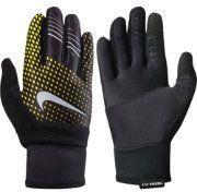 Nike Rękawiczki męskie Therma-fit Elite Run Gloves Volt/black/green r. M