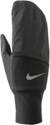 Nike Rękawiczki Vapor Mitten czarno-białe r. L