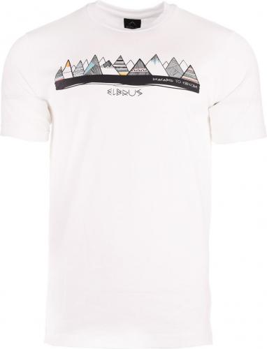 ELBRUS Koszulka męska BERGE white r. S