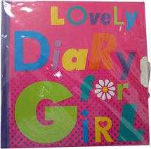 Starpak Pamiętnik zamykany Girl STARPAK (359903)
